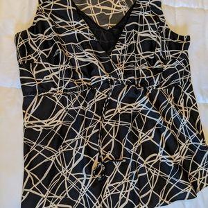 AK Anne Klein camisole-style sleeveless top
